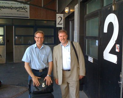 1.Q consult partners Thomas Rønlev and Bo Westberg Rasmussen